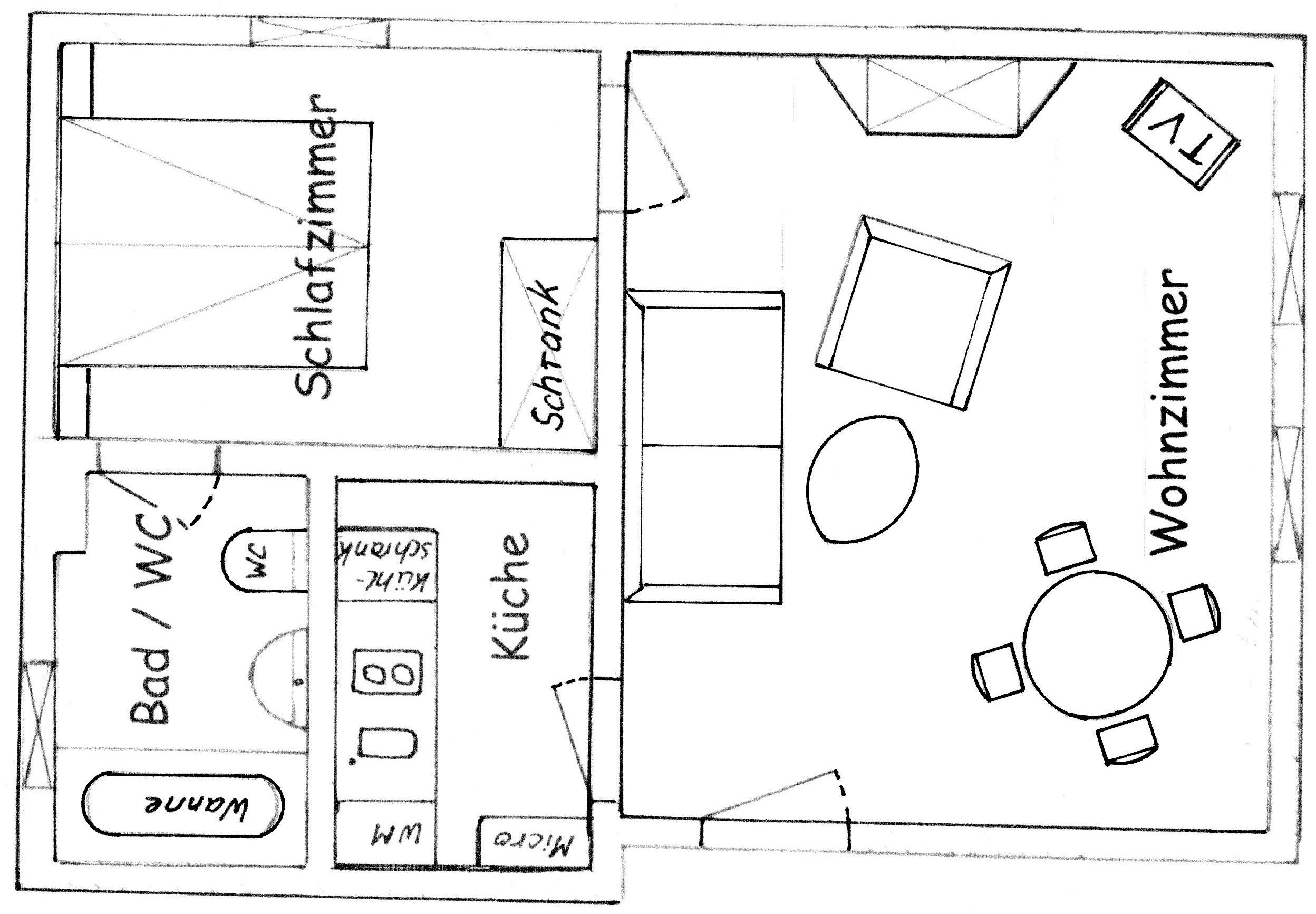 Ferienwohnung harz for Wohnzimmer 40 qm